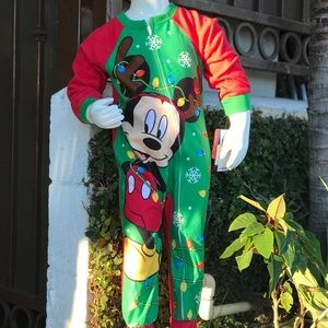 Mickey Mouse Christmas onsie